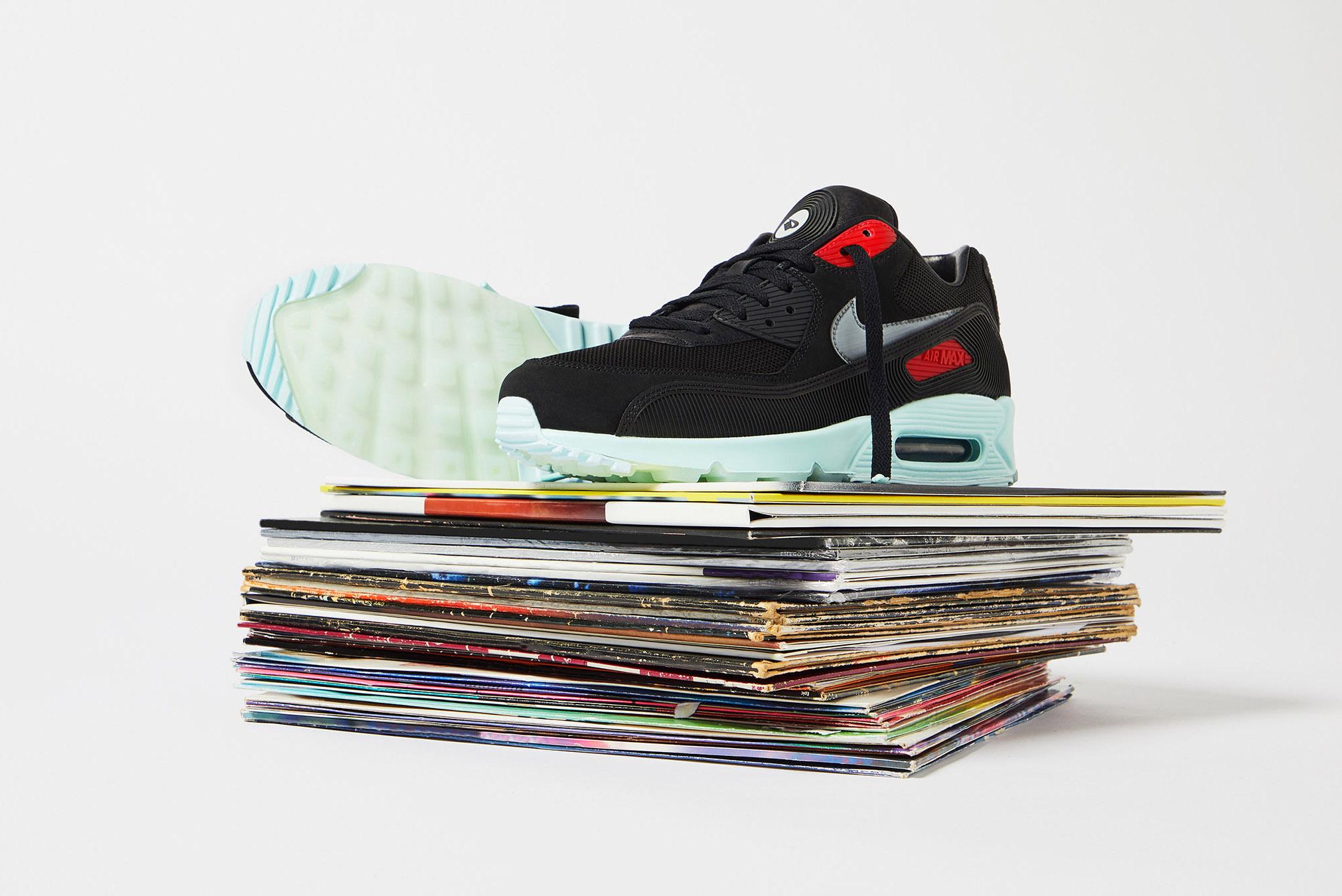 END. Features | Nike Air Max 90 Premium 'Vinyl' - Register Now on ...