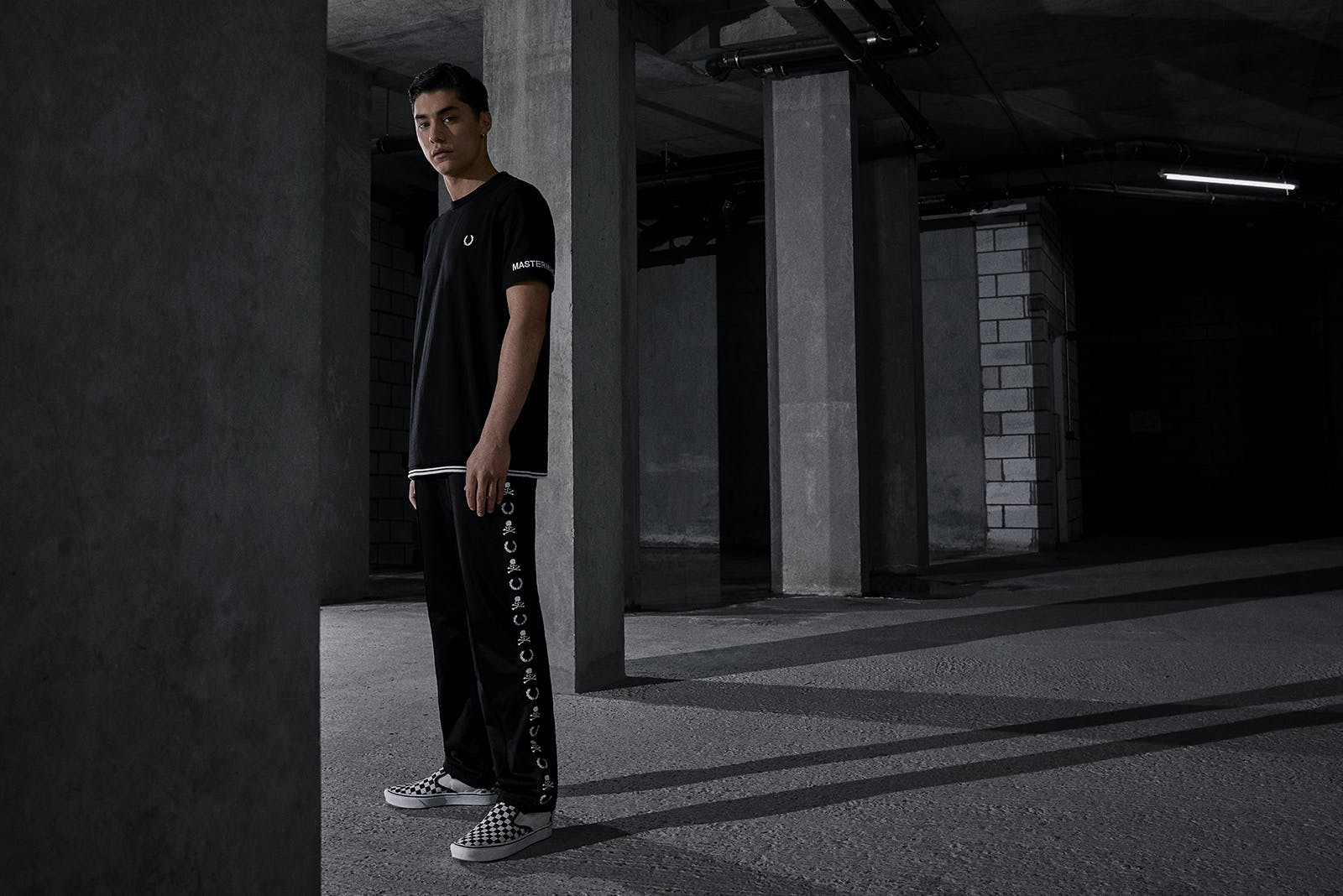 END. x MASTERMIND World x Fred Perry Capsule
