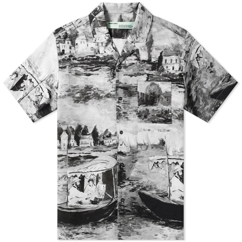 Off-White Lake Print Vacation Shirt