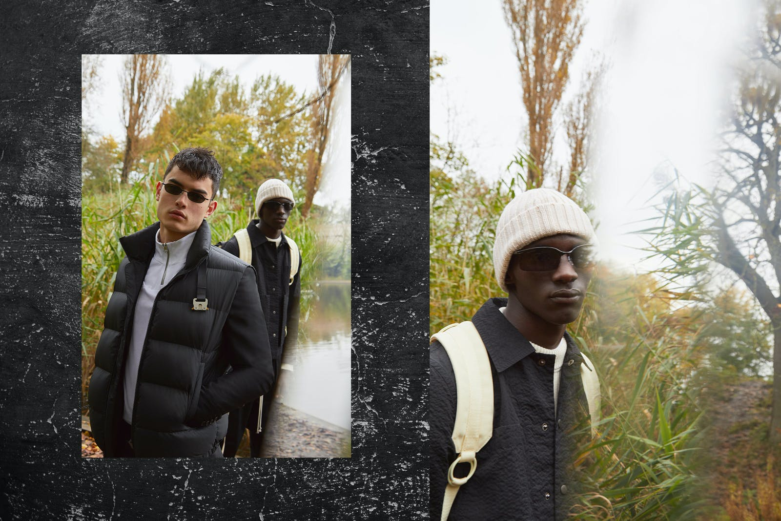On A Trip END. AW19 Editorial .03 - Models wear Maison Margiela, Rick Owens, 1017 ALYX 9SM, Acne Studios