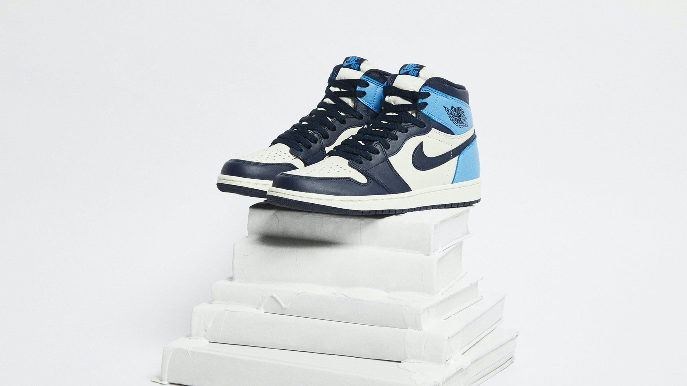 End Features Nike Air Jordan 1 Obsidian Unc Register Now On