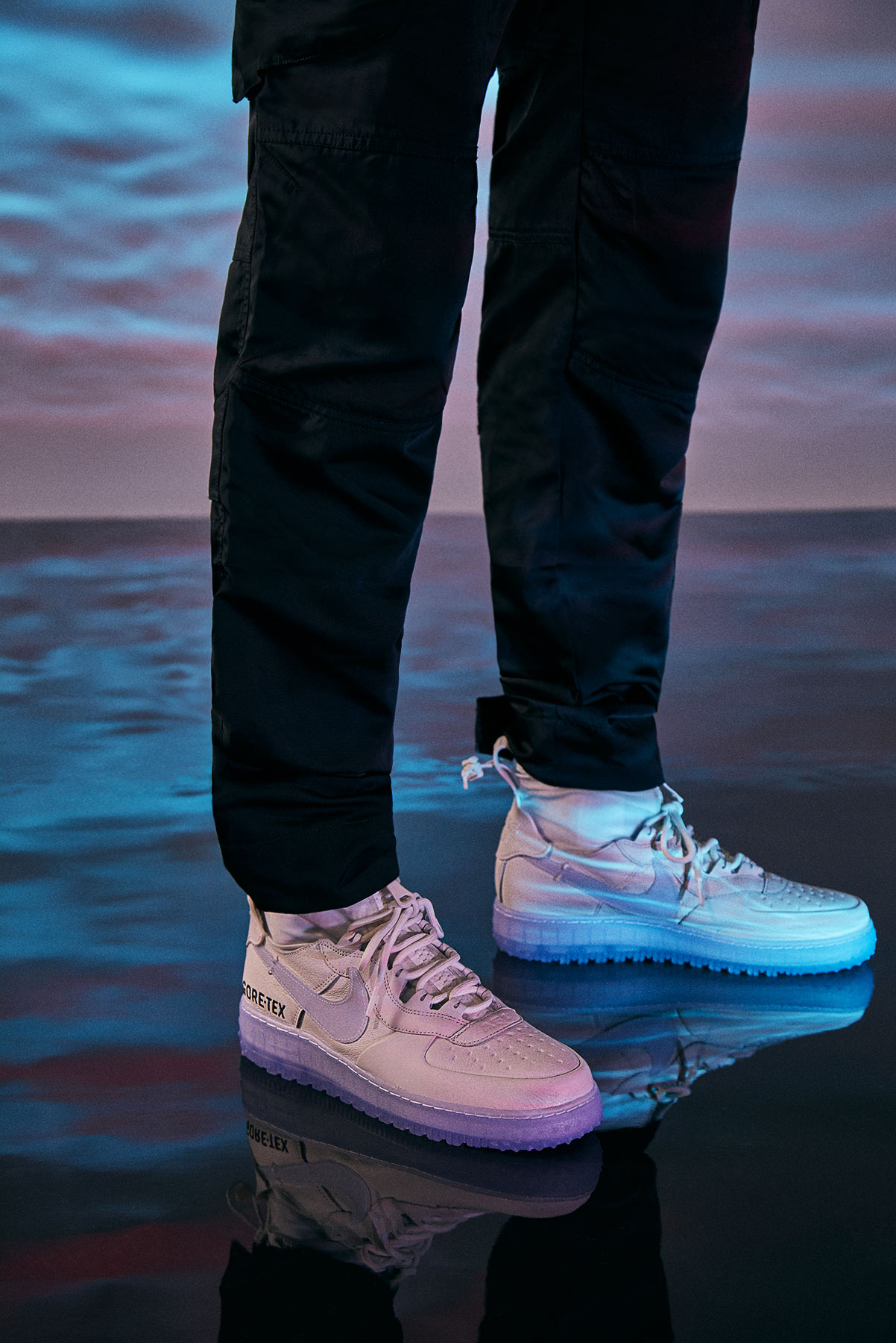 END. Features   Nike Enlist J Rick to Unveil the Air Force 1 WTR ...