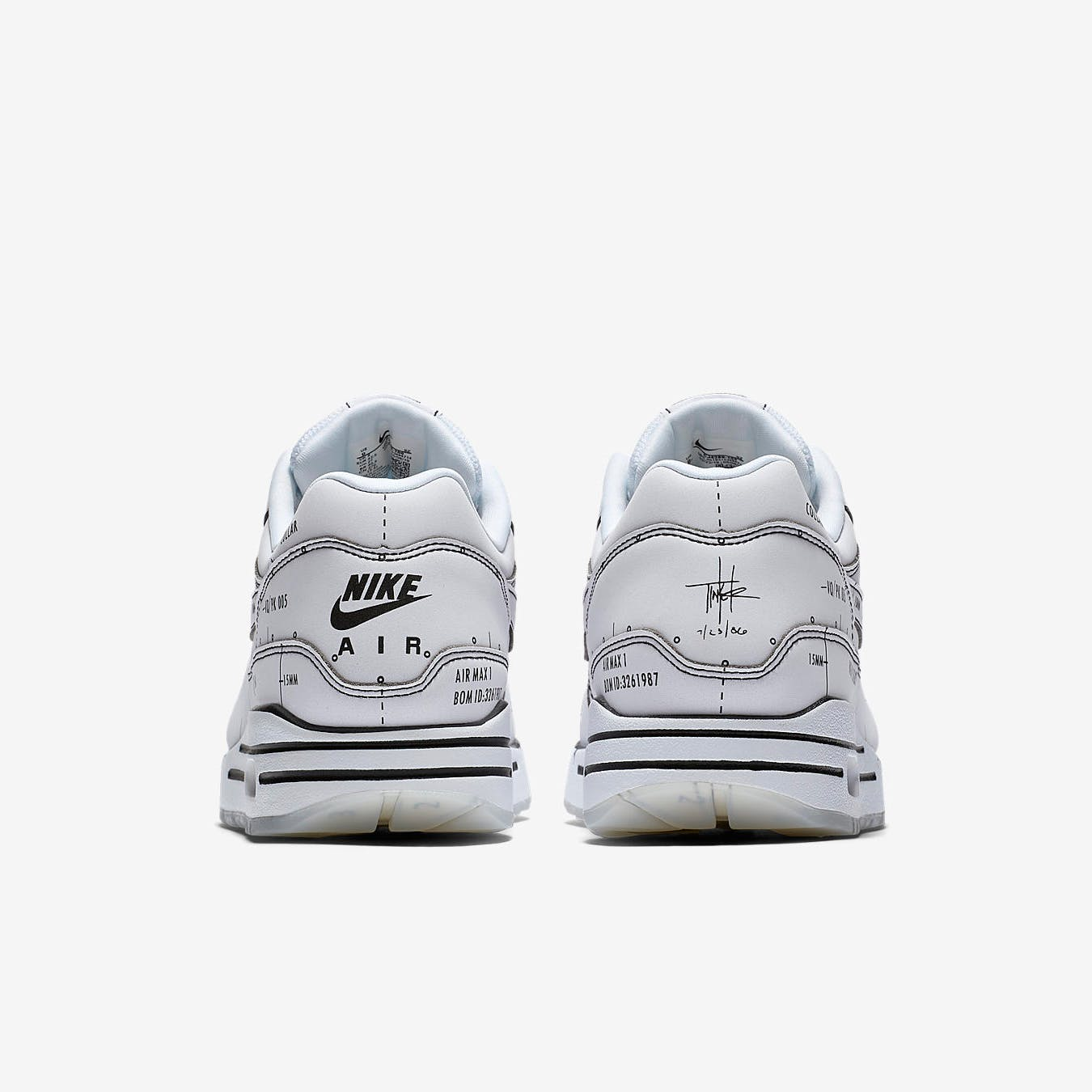 END. Features   Nike Air Max 1 Sketch to Shelf Register