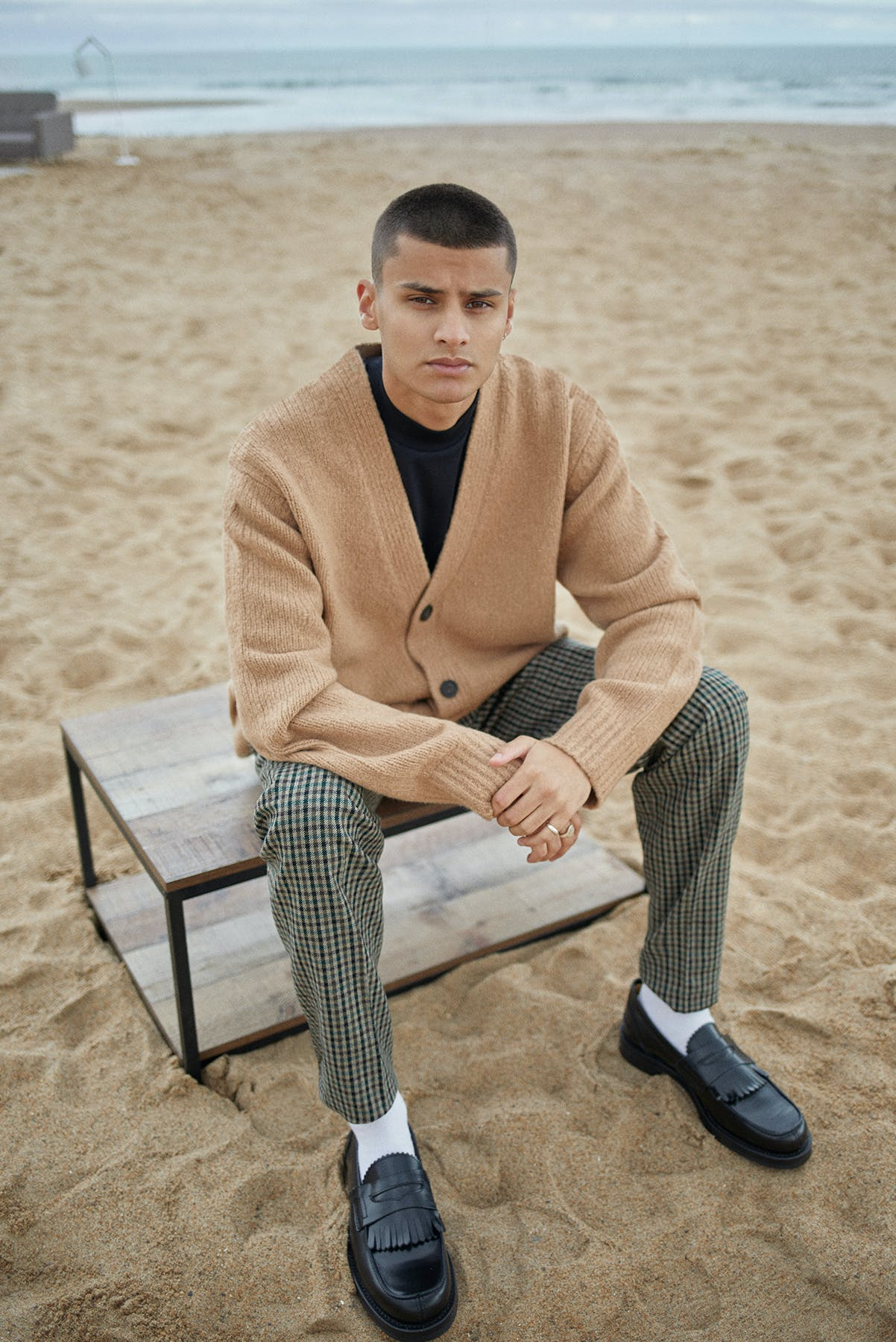 Our Legacy loafers for Bare Minimum END. editorial