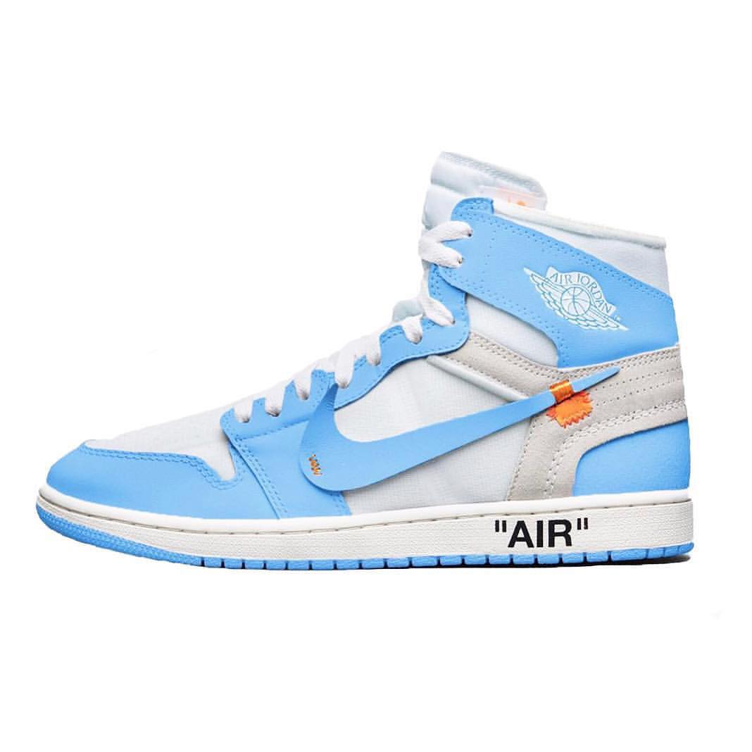Nike Air Jordan 1 x Off White 'UNC