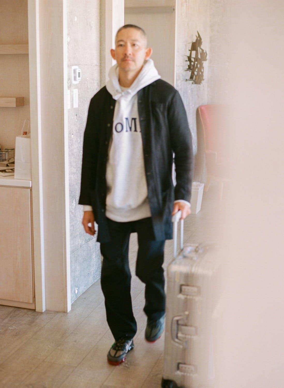 Jason Markk wearing Nike x Cactus Plant Flea Market Air VaporMax CD7001 300