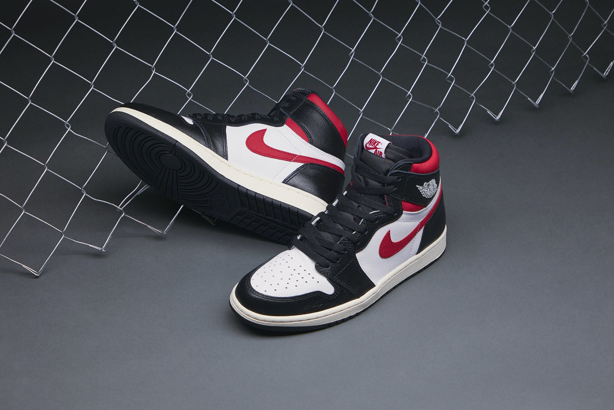 another chance separation shoes on feet at END. Features | Nike Air Jordan 1 High OG 'Gym Red ...