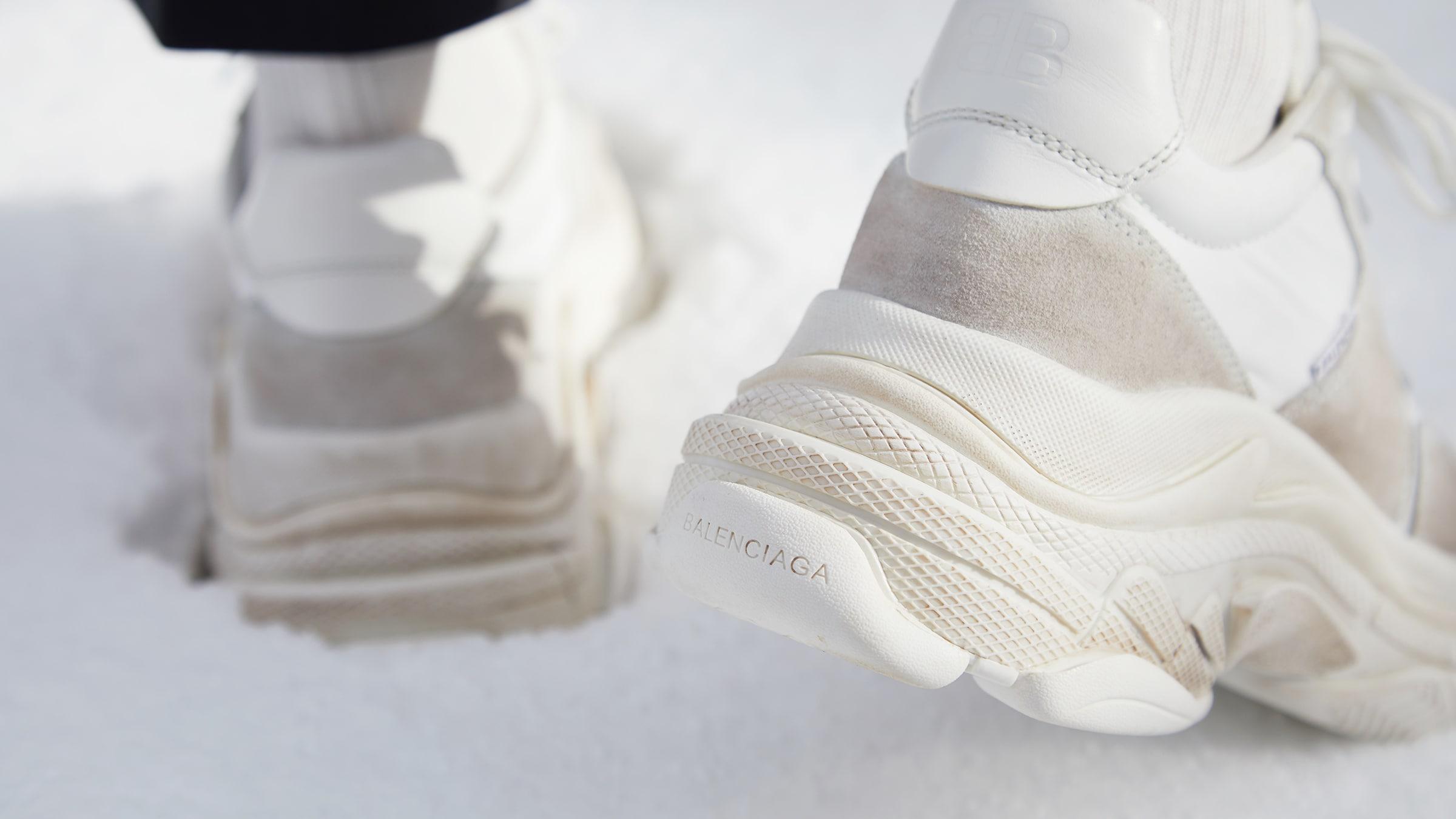 Balenciaga Triple S Clear Sole Trainers Cream White Review