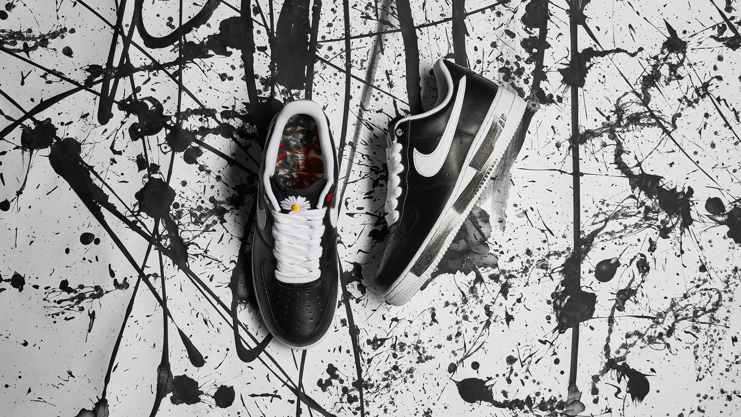 END. Features | PEACEMINUSONE x Nike Air Force 1 Low