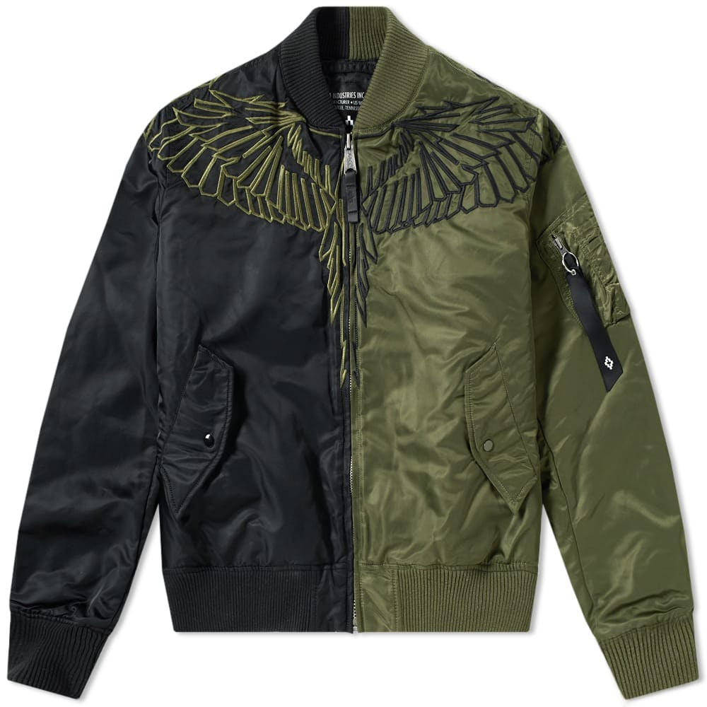 Marcelo Burlon x Alpha Industries Bomber