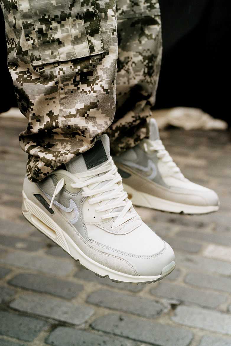 END. Features | Nike x BSMNT London Air Max 90 Register In