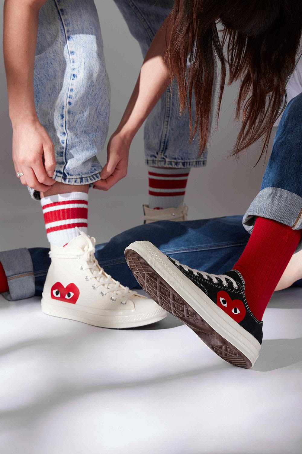 arroz Inmundo Chaleco  END. Features | Comme des Garcons Play x Converse are Back Online