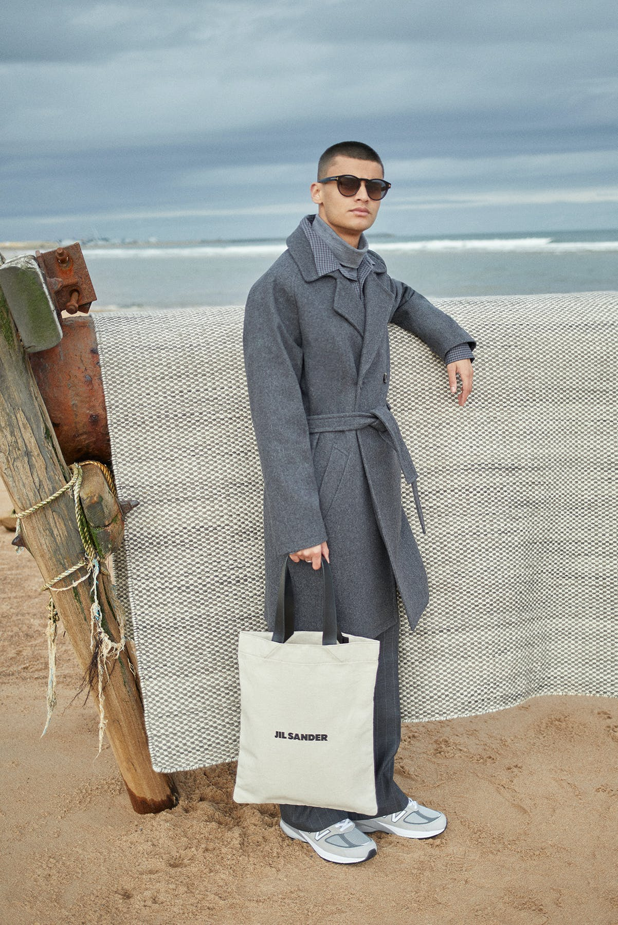 Jil Sander Tote Bag for Bare Minimum END. editorial