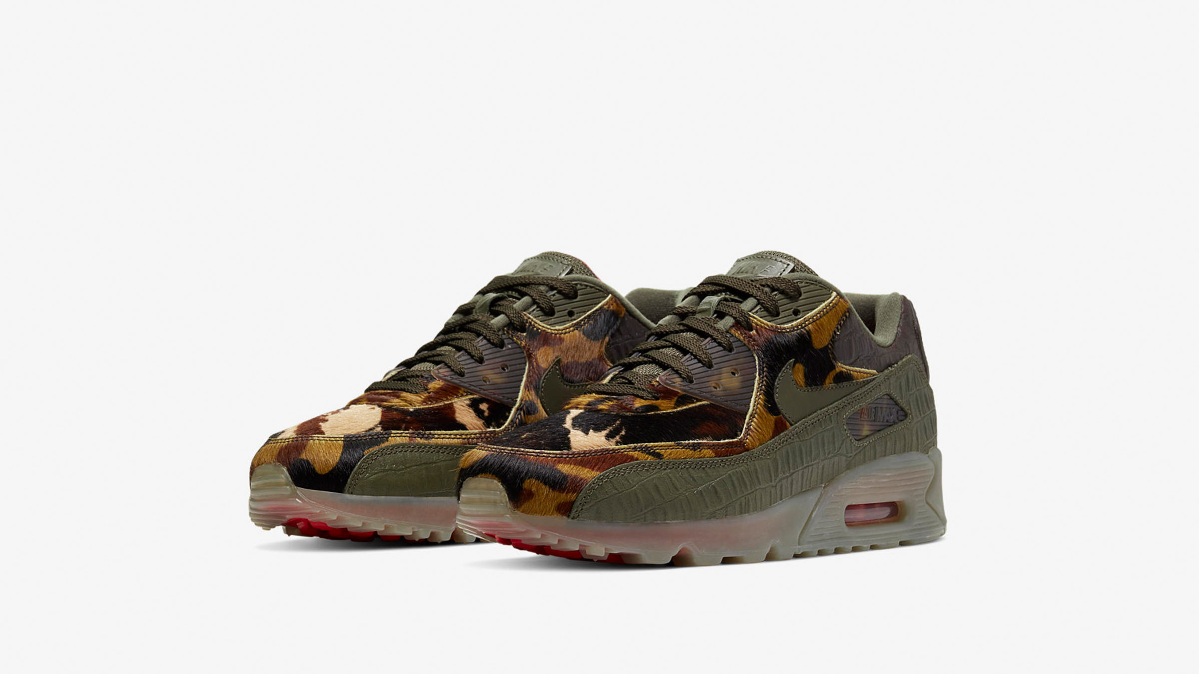 END. Features | Nike Air Max 90 'Croc Camo' Register Now