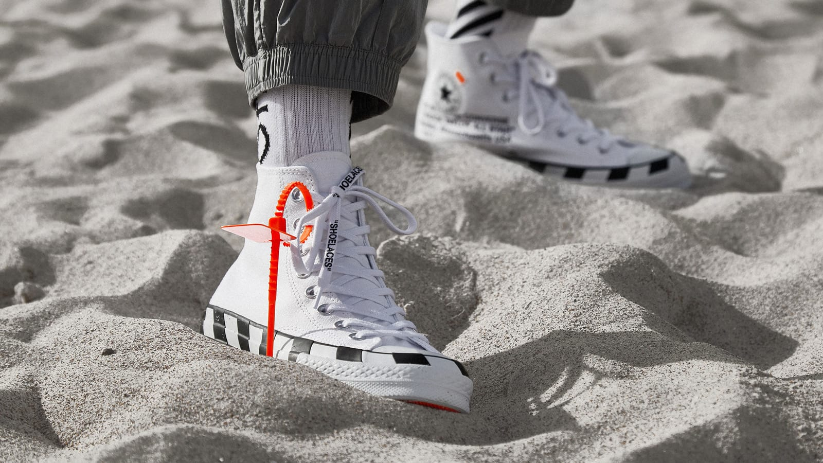 END. Features | Converse Chuck 70 x Off White Register Now