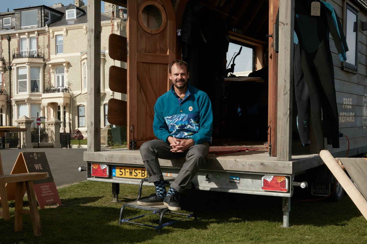 Gabriel Davies on the Patagonia Worn Wear Summer Tour 2019