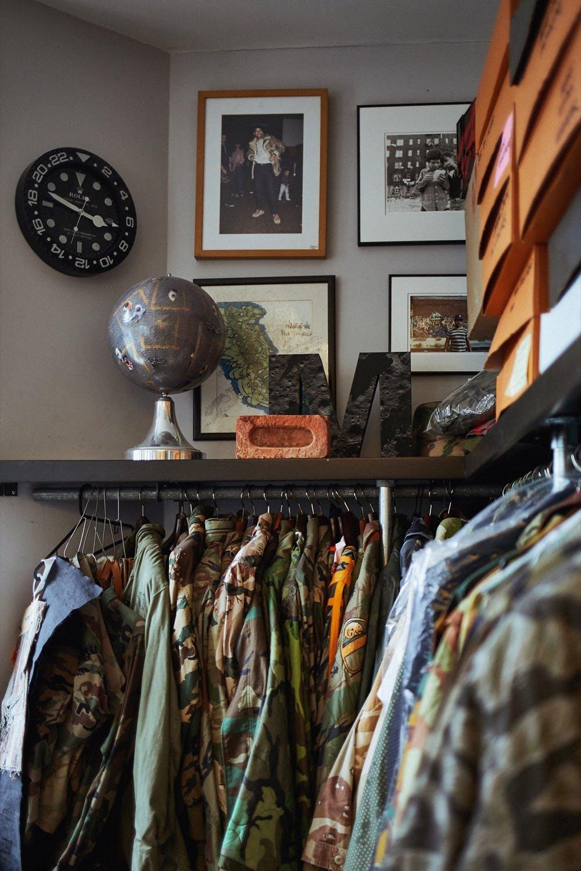 The Maharishi military surplus archive