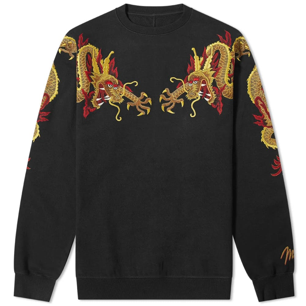 Maharishi Sun Dragon Embroidered Sweat