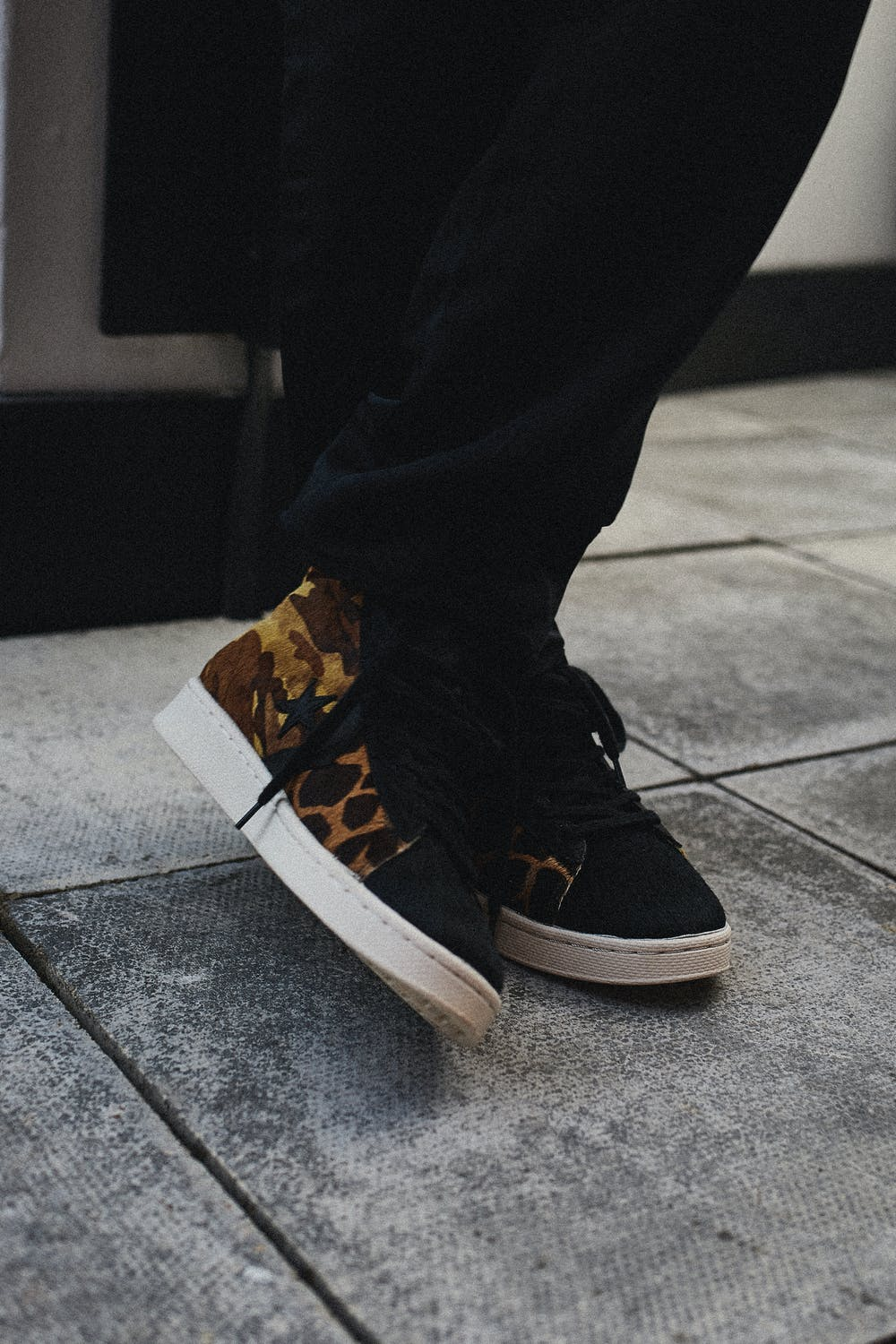 Jordan Vickors for END. and Converse Pro Leather