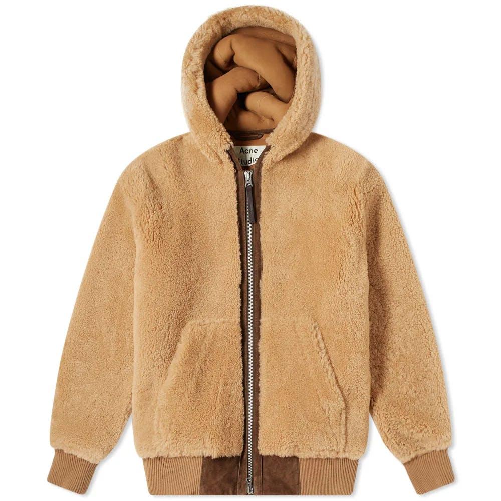 Acne Studios Leander Shearling Jacket