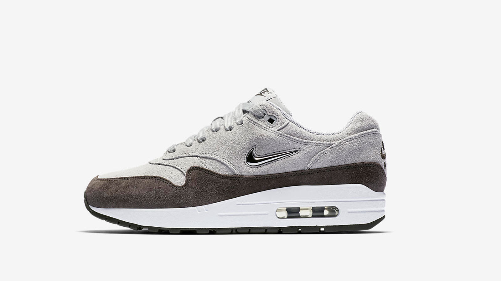 END. Features | Nike W Air Max 1 Premium 'Wolf Grey