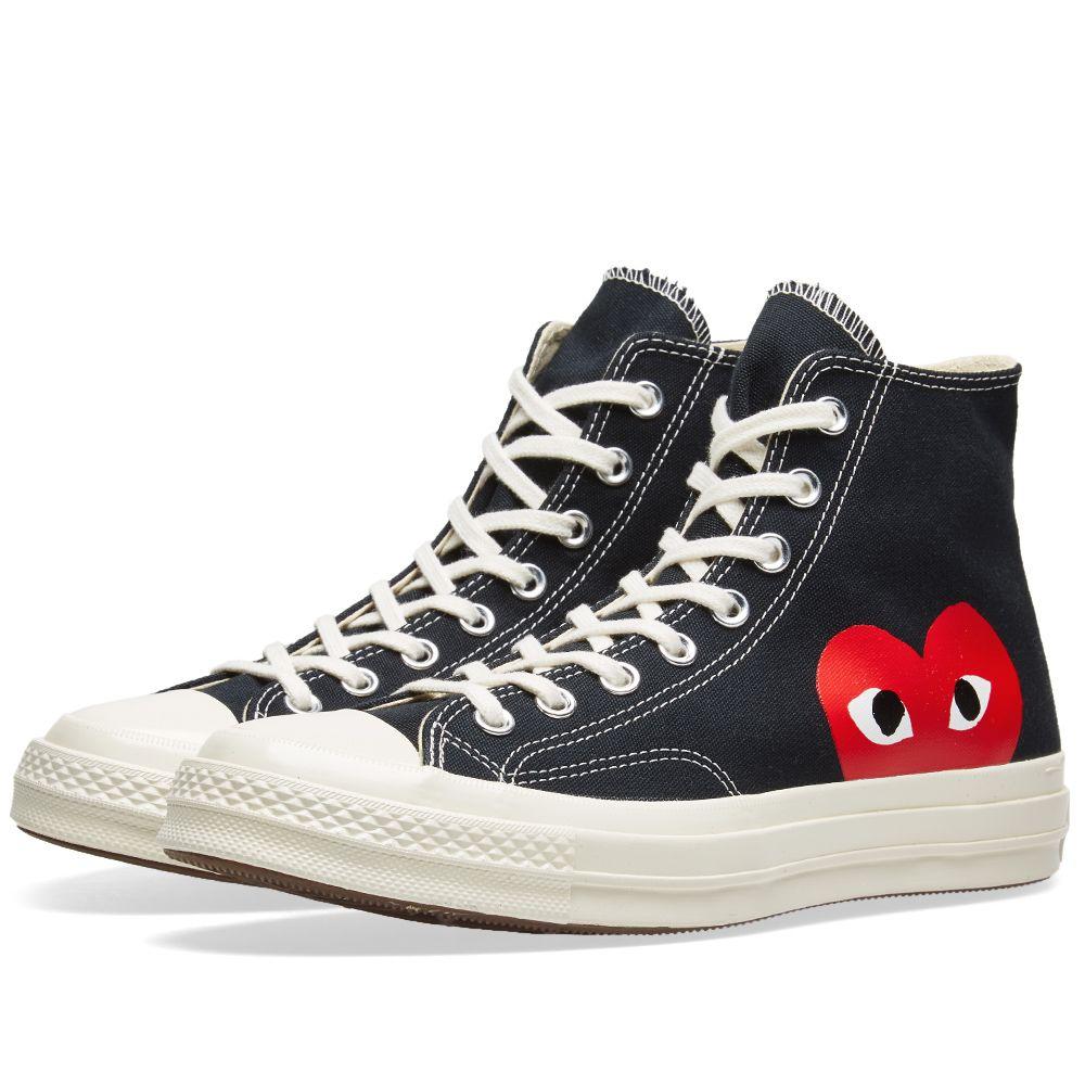 chaussure converse comme des garcons femme