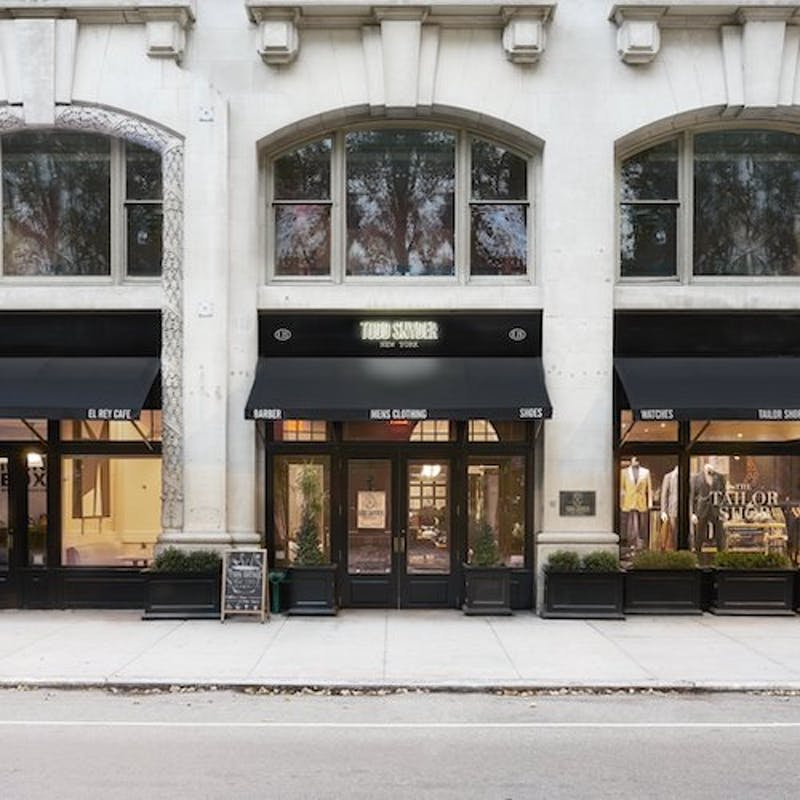 Todd Snyder store front