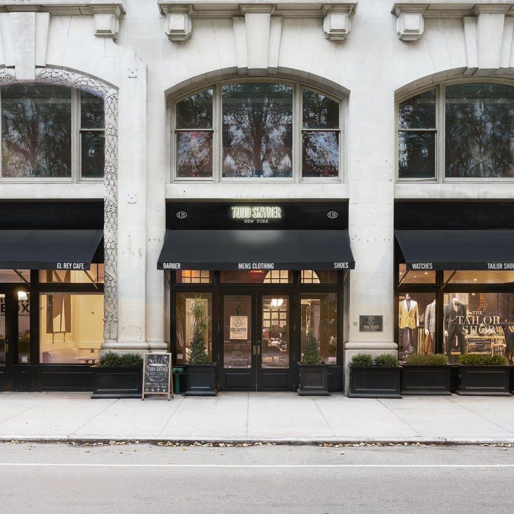 Todd Snyder storefront