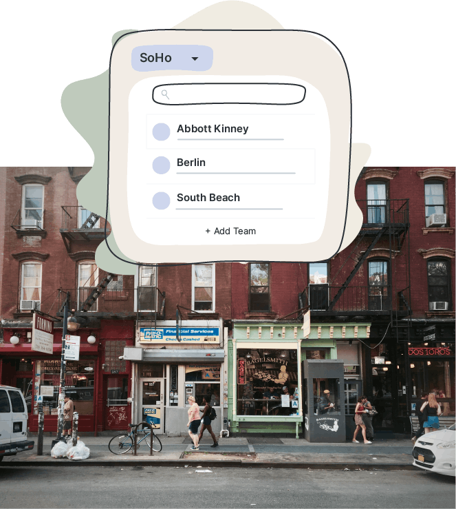 Messaging by location