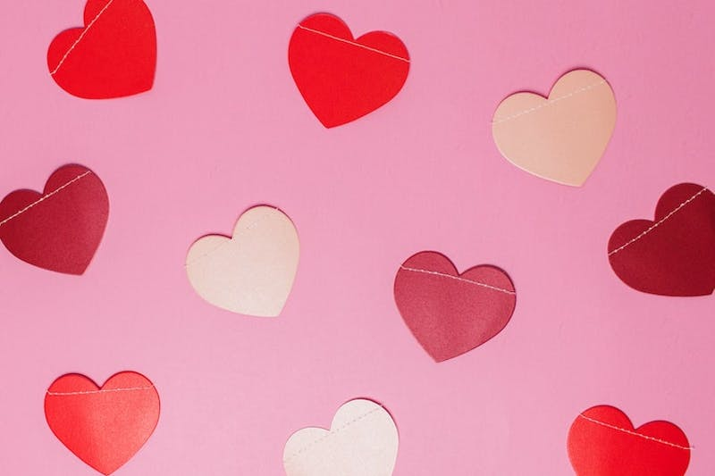 heart cut-outs
