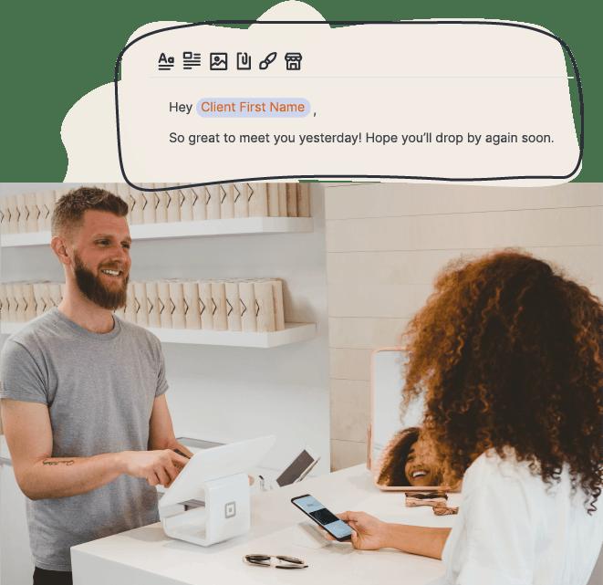 Customer conversation
