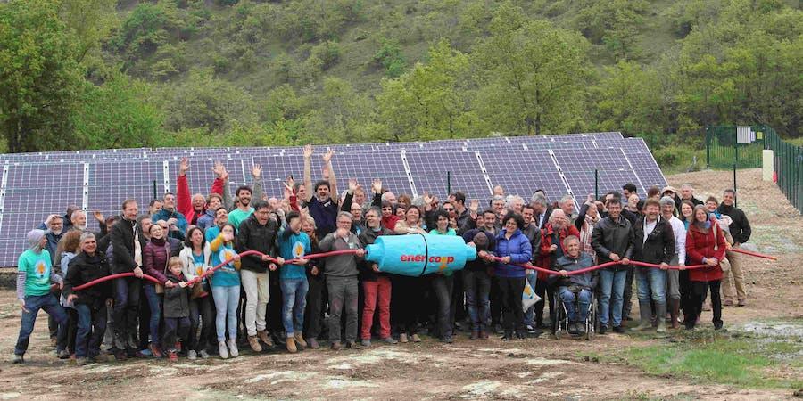 parc solaire de Montéchut à Auterrive - Enercoop Midi-Pyrénées
