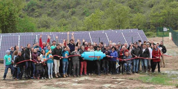 parc solaire de Montéchut à Auterrive