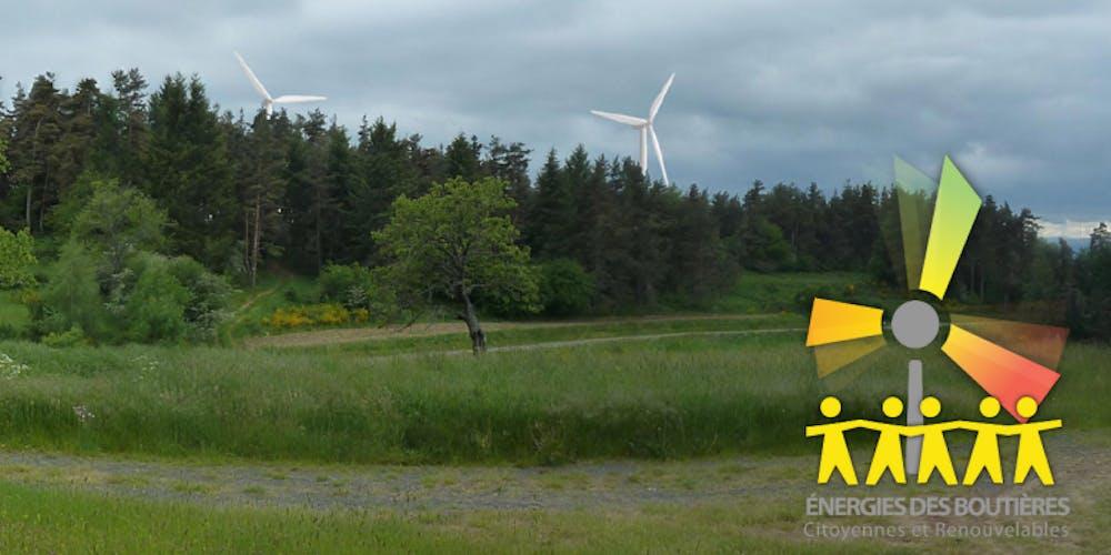 Illustration d'un projet éolien