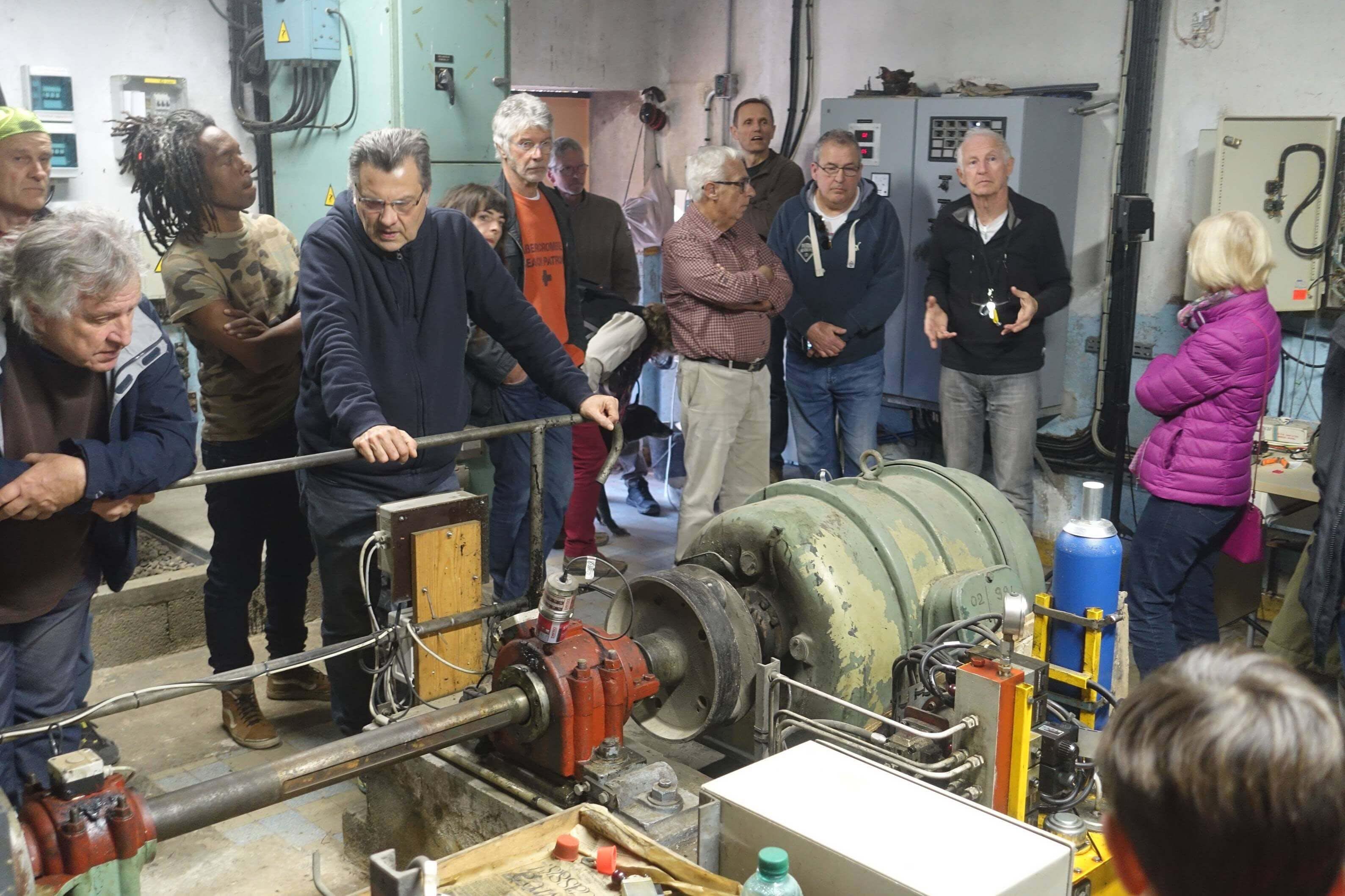 Enercoop Provence-Alpes-Côte d'Azur PACA - Visite Barjols Centrale hydroélectrique 2019 - Turbine