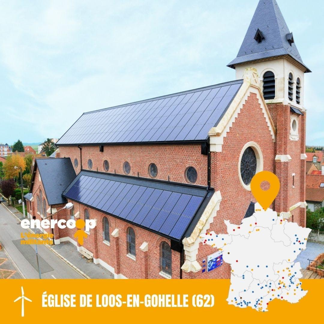 Toiture église Saint Vaast de Loos-en-Gohelle dans le Pas-de-Calais