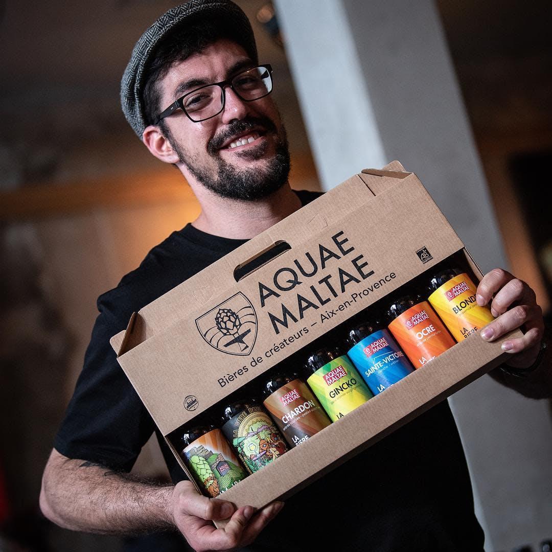 Enercoop Paca - Clients Professionnels - Bières Aquae Maltae Aix-en-Provence 13 - Portrait