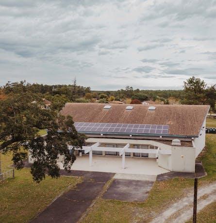 Centrale photovoltaïque du TEPOS de la Haute Lande - Escource