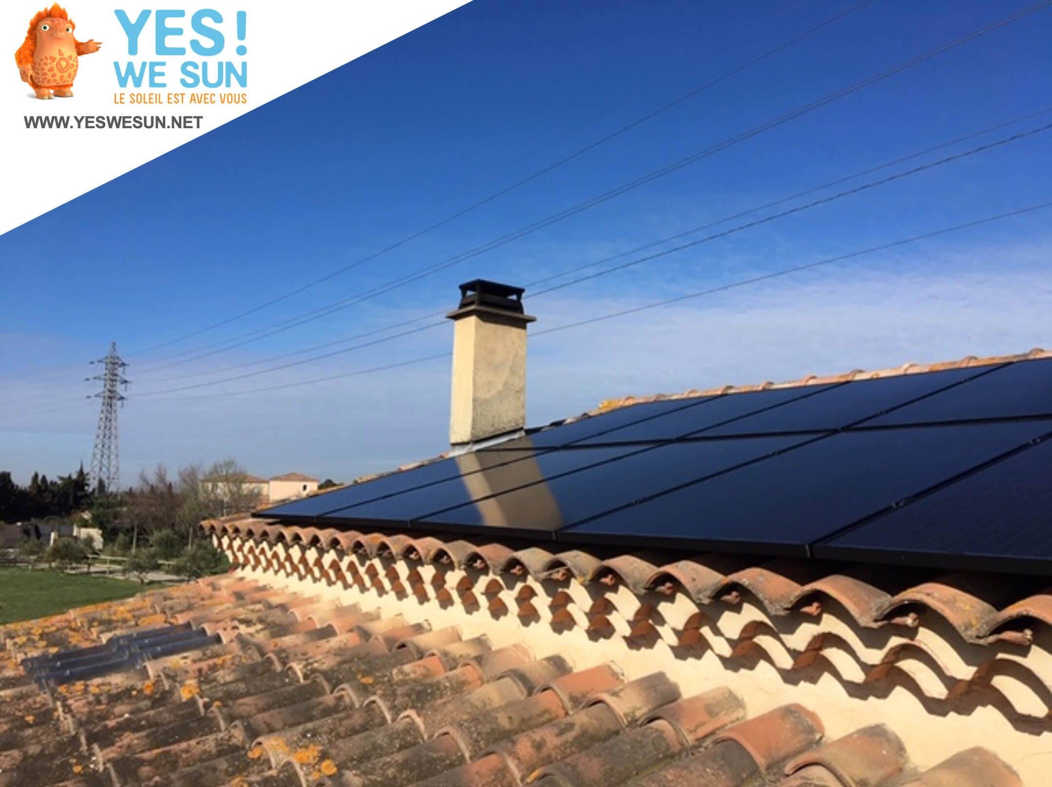 Enercoop Paca - Autoconsommation - Yes We Sun - Photovoltaïque sur toiture
