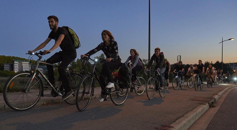 Balade avec les vélos de la Maison du Vélo