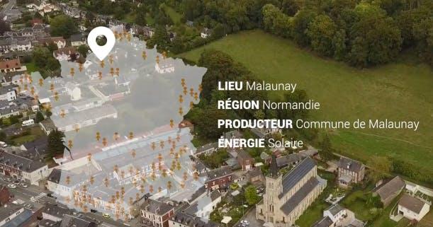 Vidéo de présentation d'un producteur normand : La ville de Malaunay