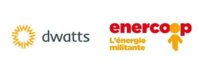 Logos Dwatts et Enercoop