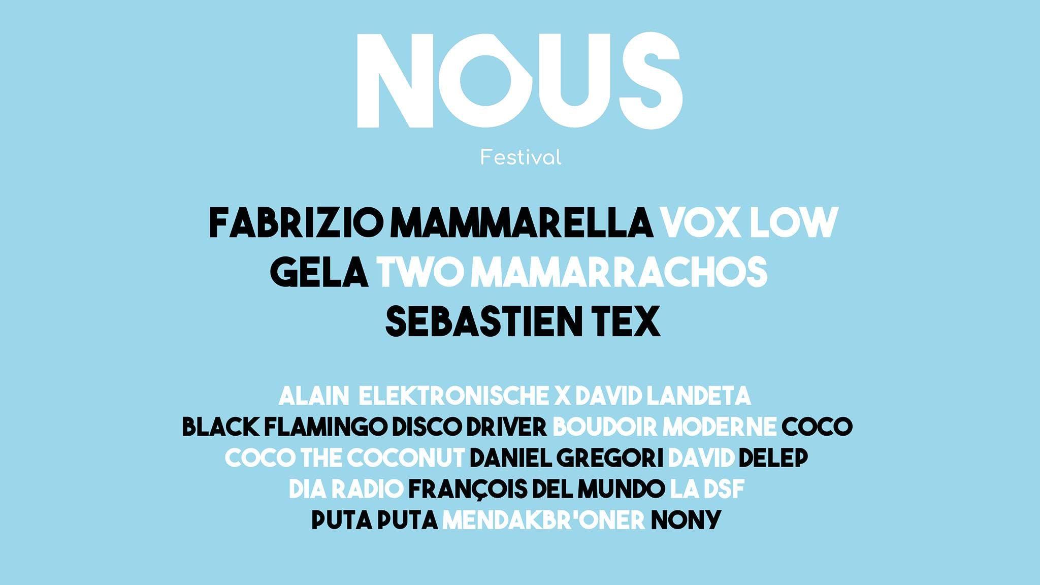 Enercoop Nouvelle-Aquitaine - NOUS Festival - Programmation