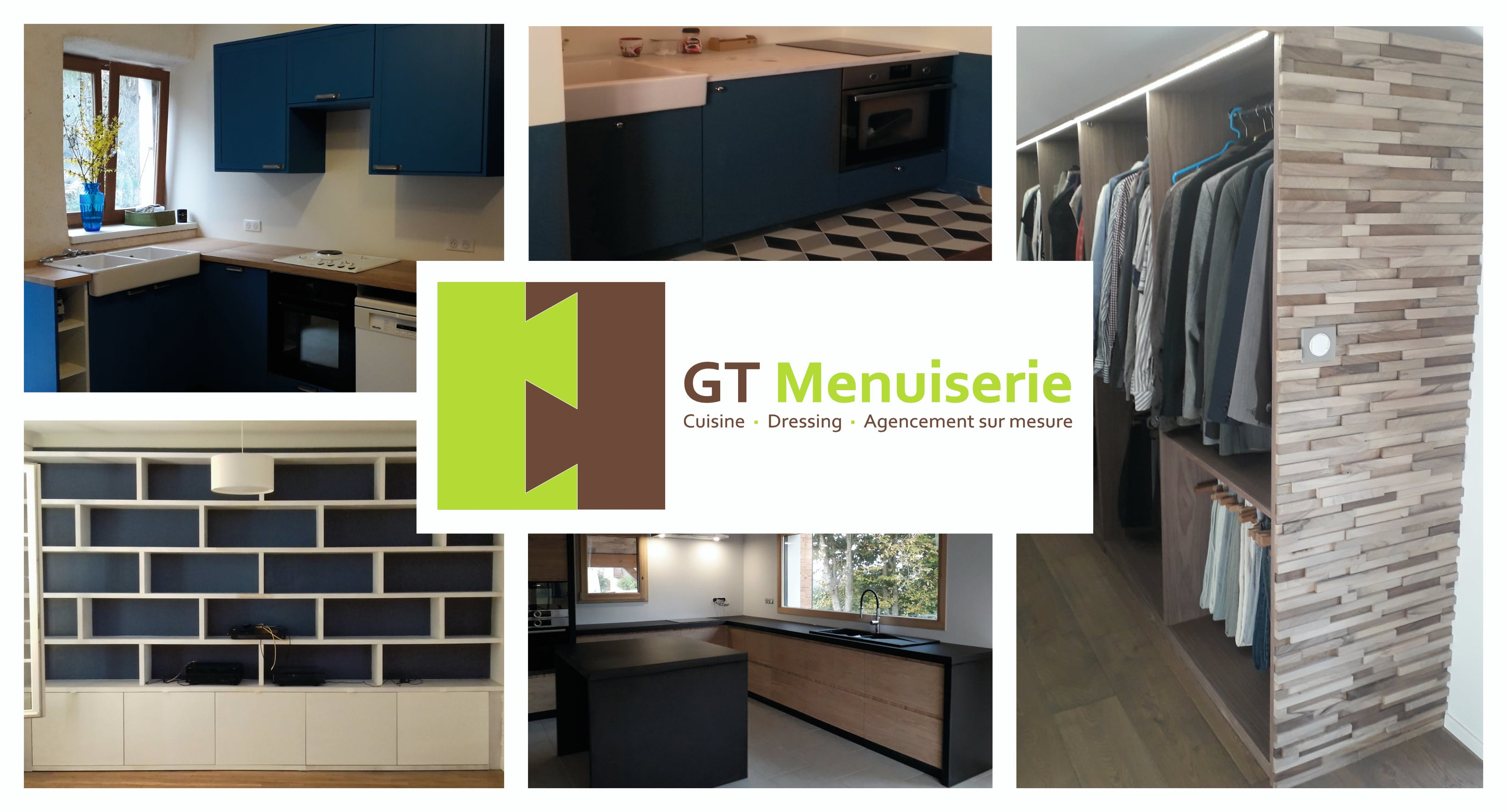 Différentes pièces réalisées par GT Menuiserie