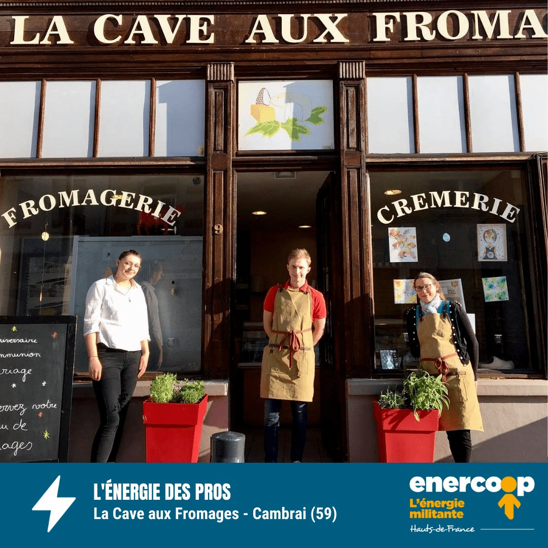 Magasin Cave aux Fromages Cambrai dans le Nord