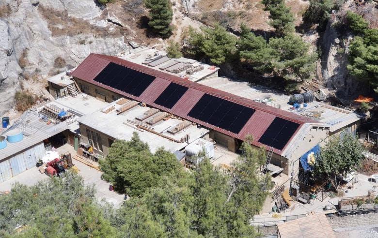 Enercoop Paca - Production - Massilia Sun System La Déviation - Centrale photovoltaïque citoyenne