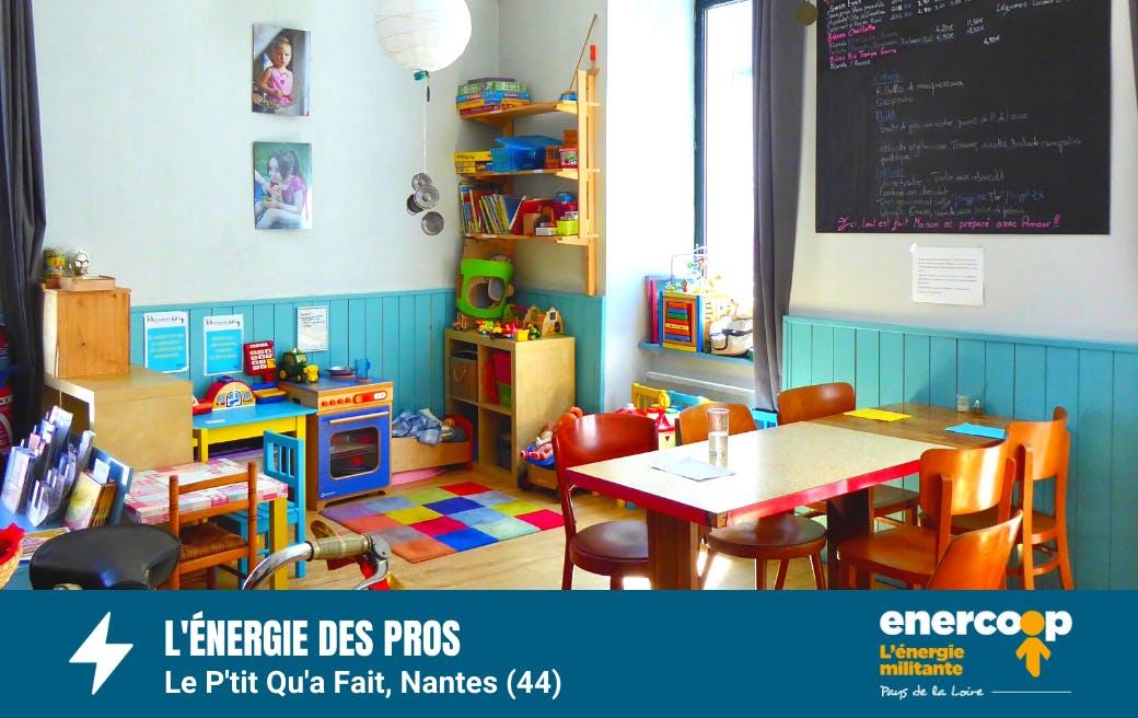 Le P'tit qu'a fait - Enercoop - Pays de la Loire - Nantes - électricité verte et locale