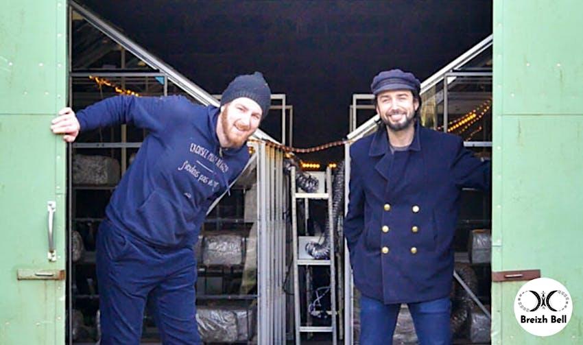 Breizh Bell: Jefferson et Xavier sont deux producteurs de champignons bio, à Ploudiry (29), et ont choisi Enercoop