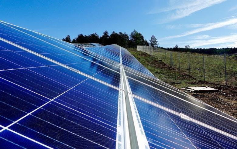 Enercoop Paca - Production - Projet photovoltaïque - Saint Pons 04 - Panneaux solaires