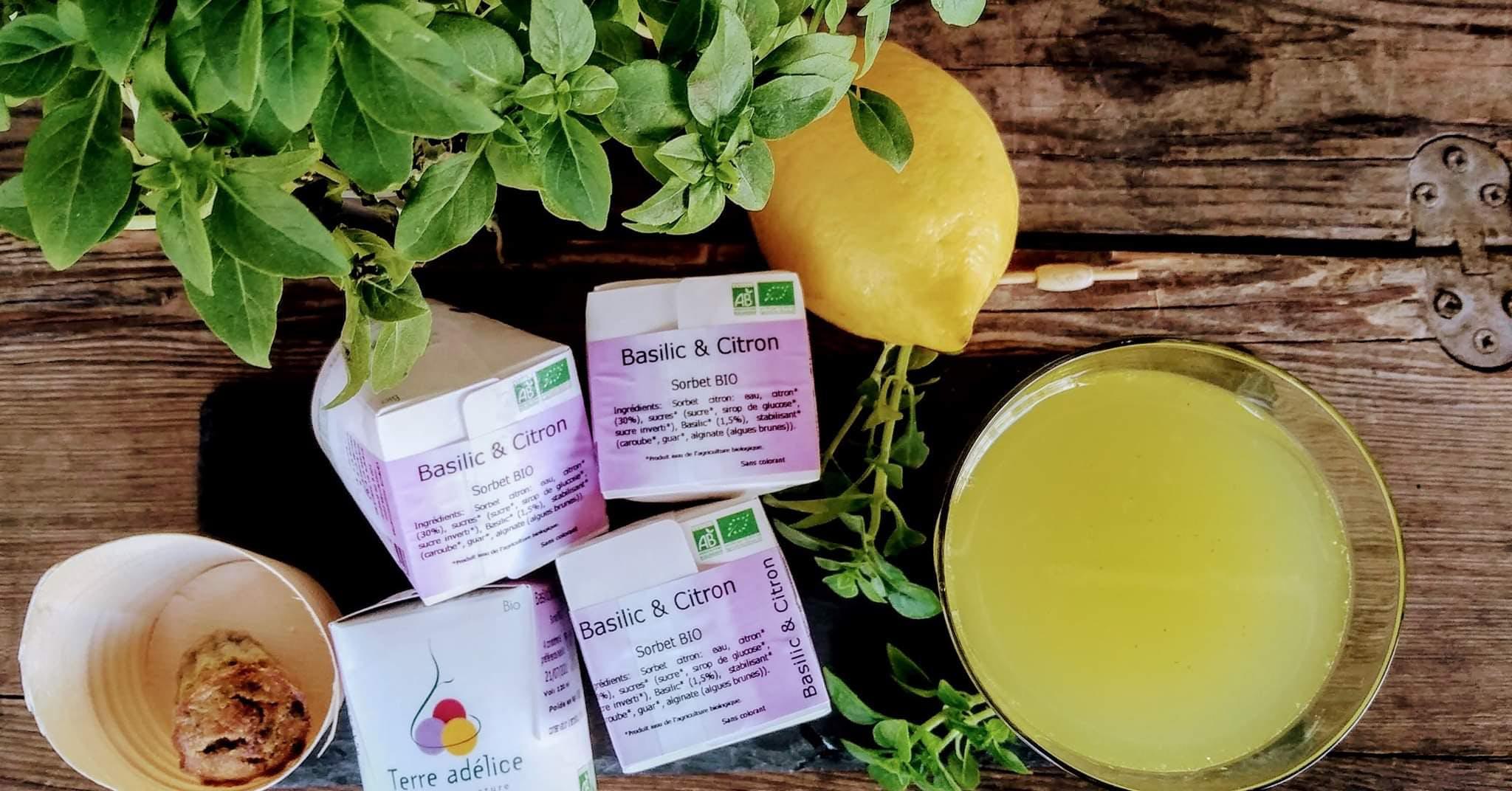 Enercoop Paca - Clients Professionnels - Basilic & Citron jus bio - Avignon Bignoles - Ingrédients